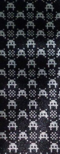 Black Tie Geek Loot Crate Exclusive Invaders (from Space) Neck Tie - Exclusive Necktie