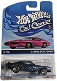 Hot Wheels Cool Classics Blue '73 Ford Gran Torino 12/30