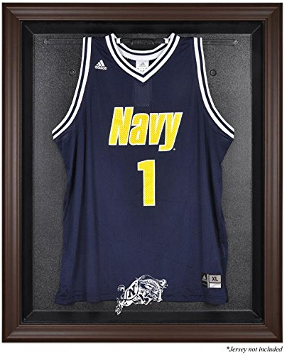 Navy Midshipmen Framed Logo Jersey Display Case by Mounted Memories