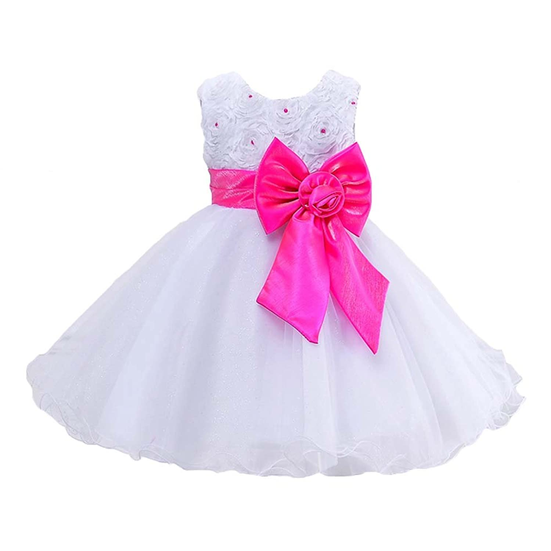 hibote Vestidos de niña de flores para bodas Vestidos de primera ...