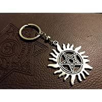 Supernatural Demon Protection key ring