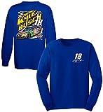 Kyle Busch 2017 M&M's Caramel Long Sleeve NASCAR T-Shirt