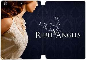 Cubierta de cuero y caja de la PC funda / soporte para funda de Apple iPad Mini 1,2,3 funda Con Magnetic reposo automático Función de despertador DIY por Gemma Doyle Trilogy Rebel Angels Cover Art L9L5Dg8B1Ov