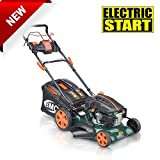 BMC Lawn Racer 21' Self Propelled Electric Push Button Start Lithium Ion Battery...