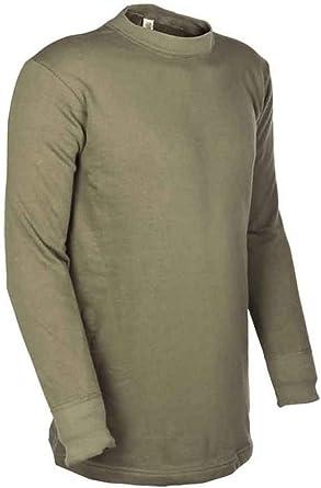 Mil-Tec - Camiseta térmica - Básico - para hombre verde verde oliva extra-large: Amazon.es: Ropa y accesorios