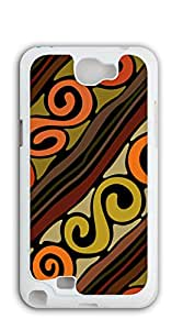 TUTU158600 Custom made Case/Cover/ case for samsung galaxy note 2 3d - Retro tribe