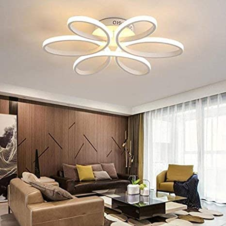 WBR Luz de techo$ LED Lámpara de techo, dormitorio luces ...