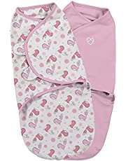 Summer Infant Original Swaddle Small, Tweet Tweet, Pack of 2