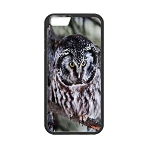 [Owl Series] IPhone 6 Cases Boreal Owl, Dustin - Black