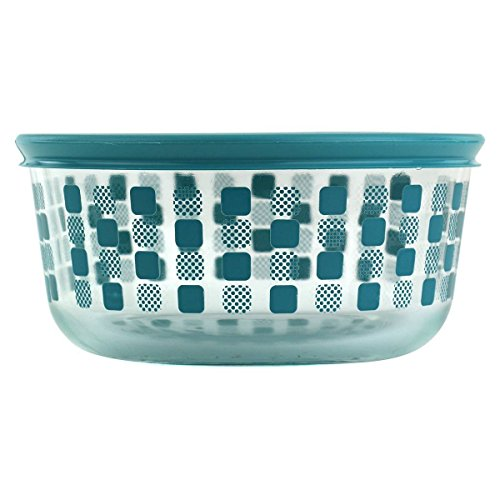 Pyrex 1124730 4 cup Storage Dish Squared Bon