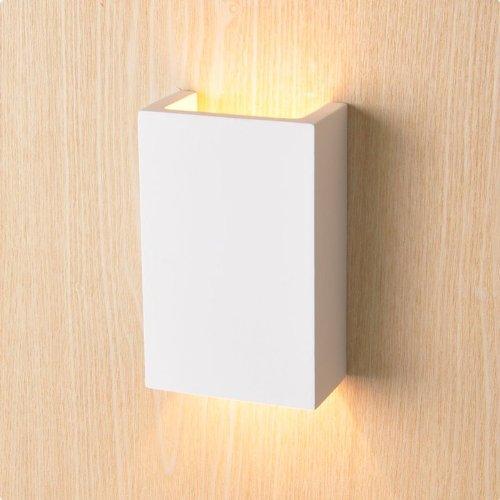 Isolicht LED Wandleuchte 2x3 Watt aus aus aus Gips, UP&DOWN, eckig, warmweiss 7add95