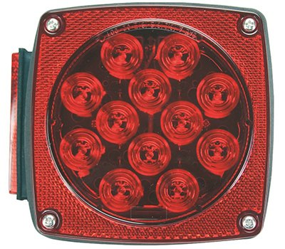 Uriah Products UL840001 Stop//tail//turn LED under 80 right side without license light