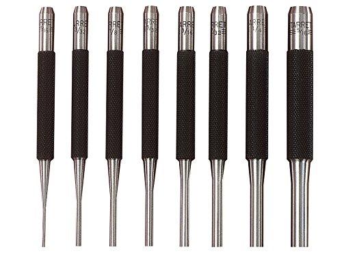 Starrett S565PC Drive Pin Punch Set (8 Pieces) by Starrett