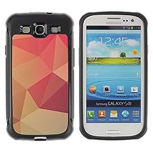 Suave TPU GEL Carcasa Funda Silicona Blando Estuche Caso de protección (para) Samsung Galaxy S3 III I9300 / CECELL Phone case / / Peach Lollipop Pattern Wallpaper /