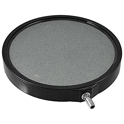 PREMIUM GRADE 5 Inch Round Air Stone Bubbler Diffuser for Aquaponics • Aquaculture • Hydroponics • Ponds • Aquariums by Cz Garden Supply
