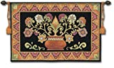 Fine Art Tapestries ''Mexican Potted Folk'' Wall Tapestry