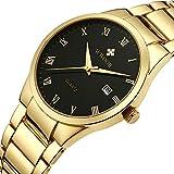WWOOR Men's Quality Watch Luxury Analog...