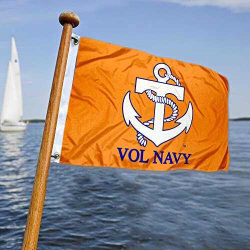 Tennessee Vols Vol Navy Golf Boat Mini Flag by College Flags and Banners Co.