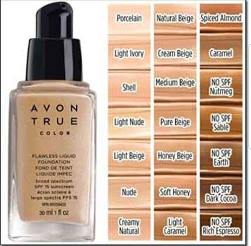 Avon True Color Flawless Liquid Foundation - Honey Beige