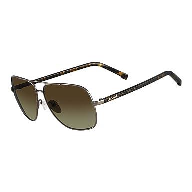 2df6ead1f809 Image Unavailable. Image not available for. Colour  Lacoste L146S-035 Dark  Gunmetal L146S Sunglasses