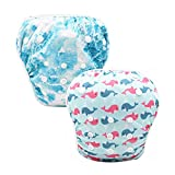 Baywell Baby Swimming Diapers for 0-3 Years Unisex Baby Adjustable Reusable Breathable Washable Swimwear Pants 6 Types Optional (C)