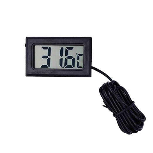 XUANLAN Medidor de Temperatura del Agua del congelador del ...