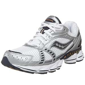 Saucony Men's Grid Launch Running Shoe,White/Navy/Gold,7.5 M