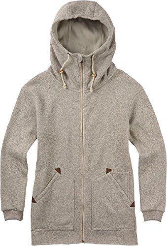 burton-womens-minxy-full-zip-fleece-sweater-dove-heather-large