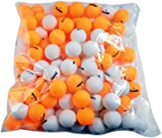 Franklin Sports Table Tennis Balls - Official Size and Weight 40mm Table Tennis Balls - One Star Professional