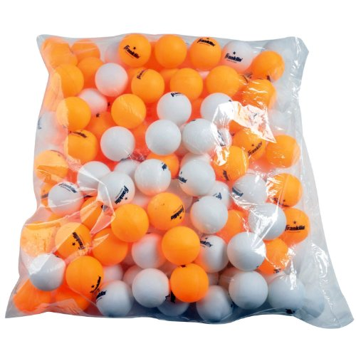 Franklin Sports 1 Star Table Tennis Balls (144 Count), Wh..