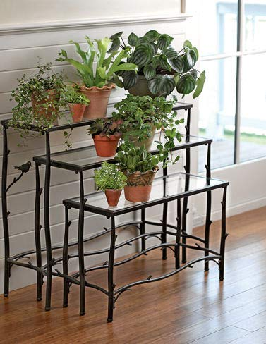Nesting Branch Plant Stands, Set of ()