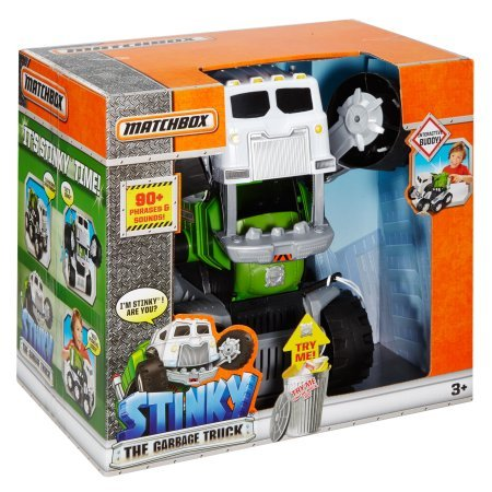 Matchbox Stinky the Garbage Truck - Stinky The Garbage Truck Toys