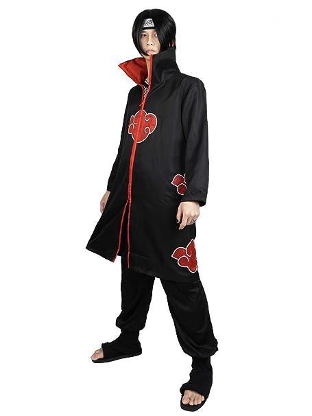 CoolChange Capa de Akatsuki Itachi. Talla: XXL
