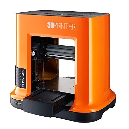 Imprimante 3D da Vinci mini w de XYZ Printing (entièrement montée), Sans fil, vol. de construction 15x15x15 cm