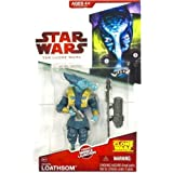 Star Wars Clone Wars Animated Action Figure General Whorm Loathsom