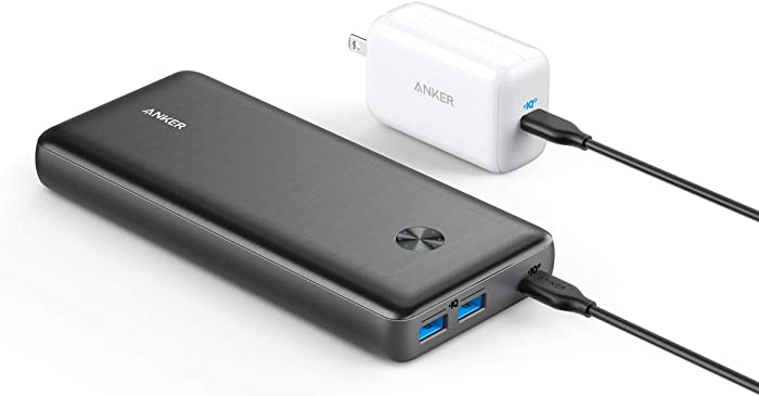 Anker Power Bank, PowerCore III Elite 25600 PD 60W with 65W PD Charger, Power Delivery Portable Charger Bundle for USB C MacBook Air/Pro/Dell XPS, iPad Pro 2020, iPhone 11 Pro / 11 / X / 8, and More