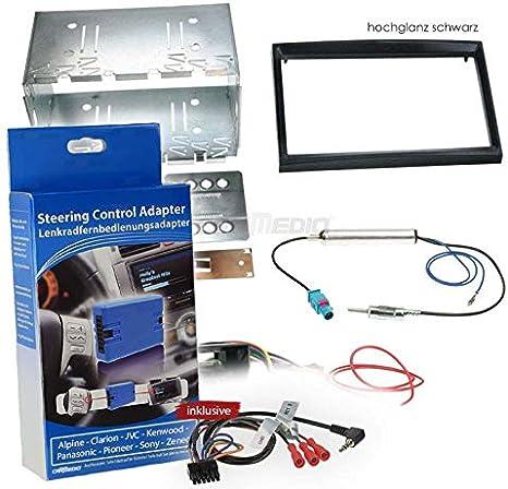 Citroen C2 03 10 2 Din Autoradio Einbauset Mit Elektronik