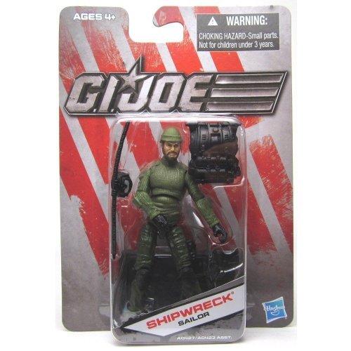 Hasbro G.I. Joe Exclusive Action Figure, Shipwreck Sailor, Green Outfit