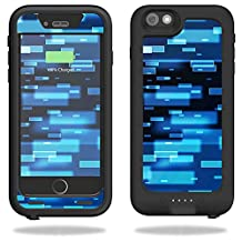 MightySkins Protective Vinyl Skin Decal for Mophie Juice Pack H2Pro for iPhone 6 Plus/6s Plus Case wrap cover sticker skins Space Blocks