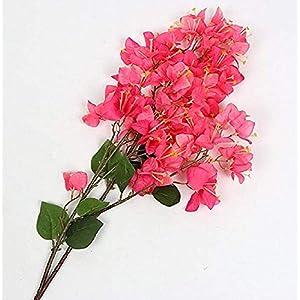 100Cm Artificial Flower Bougainvillea Spectabilis Willd Silk Cloth Flowers for Home Decor Table Decor DIY Flower Arrangement 5