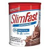 Slim Fast Original, Meal Replacement Shake Mix, Creamy Milk Chocolate, 12.83 Ounce (Pack of 3)