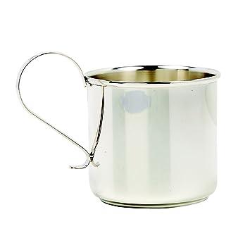 Elegant Baby Sterling Silver Keepsake Classic Traditional Shower 1st Birthday Gift Handled