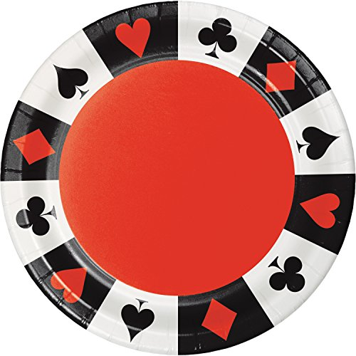 Card Night Paper Plates, 24 ()