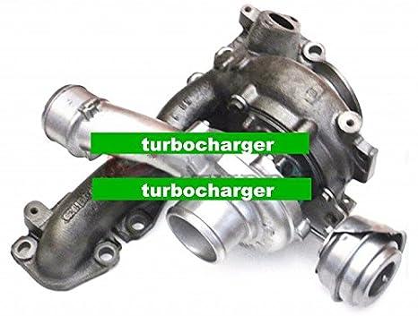 GOWE Cargador de Turbo Compresor Para Cargador de Turbo Compresor GT1749 V 773720/766340/755046 para Opel Astra H Signum Vectra C Zafira B 1.9 CDTI: ...