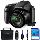 LUMIX FZ80 4K Point and Shoot Long Zoom Camera (DC-FZ80K) with 16 Gb Memory Card and other Basic Accessories