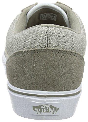 Furgoni Unisex Erwachsene Old School Lite Sneaker Beige (maglia / Pelle Scamosciata)