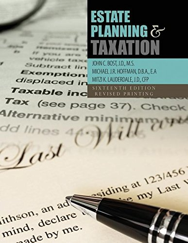 Estate Planning+Taxation Revised