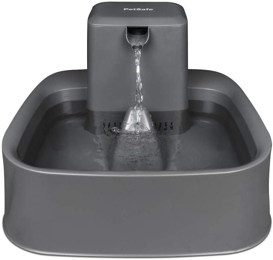 PetSafe PWW19-16778 Drinkwell 3, Fuente de 7 litros, Ideal para hogares con Perros de tamaño Medio, diseño fácil de Limpiar, Incluye Filtro