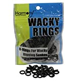 Wacky Rings - O-Rings for Wacky Rigging Senko Worms (100 orings for 4&5' Senkos)