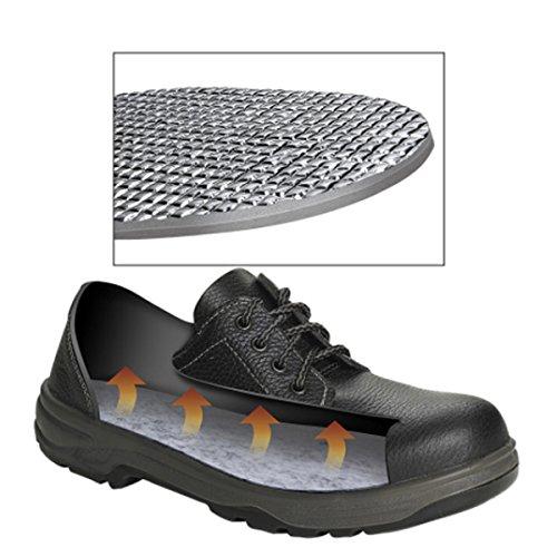TOOGOO 3 paires de semelles thermiques isolantes de chaussures daluminium pour les dames La couche dhiver chaude pour les pieds